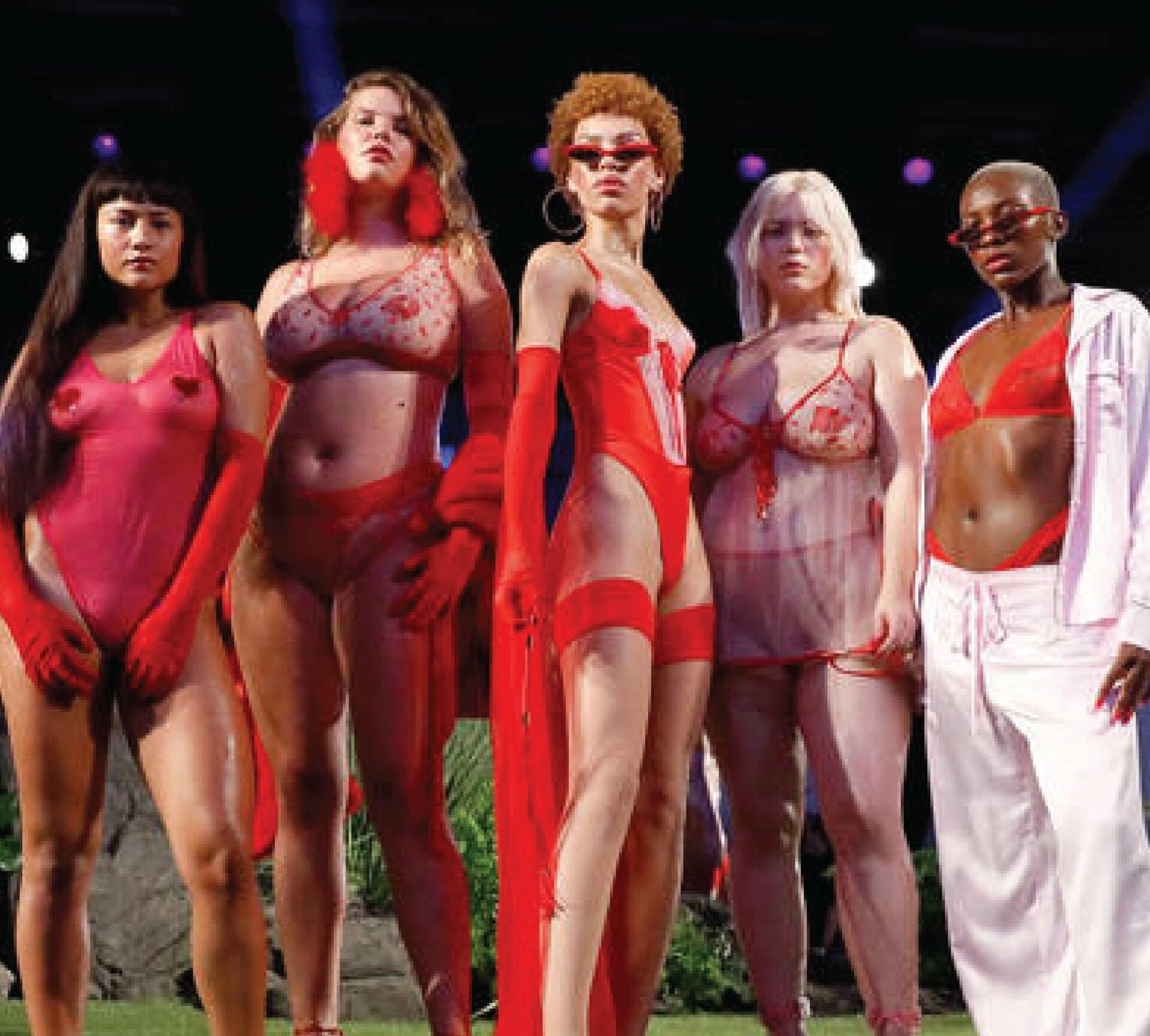 Savage X Fenty Lingerie Fashion Show