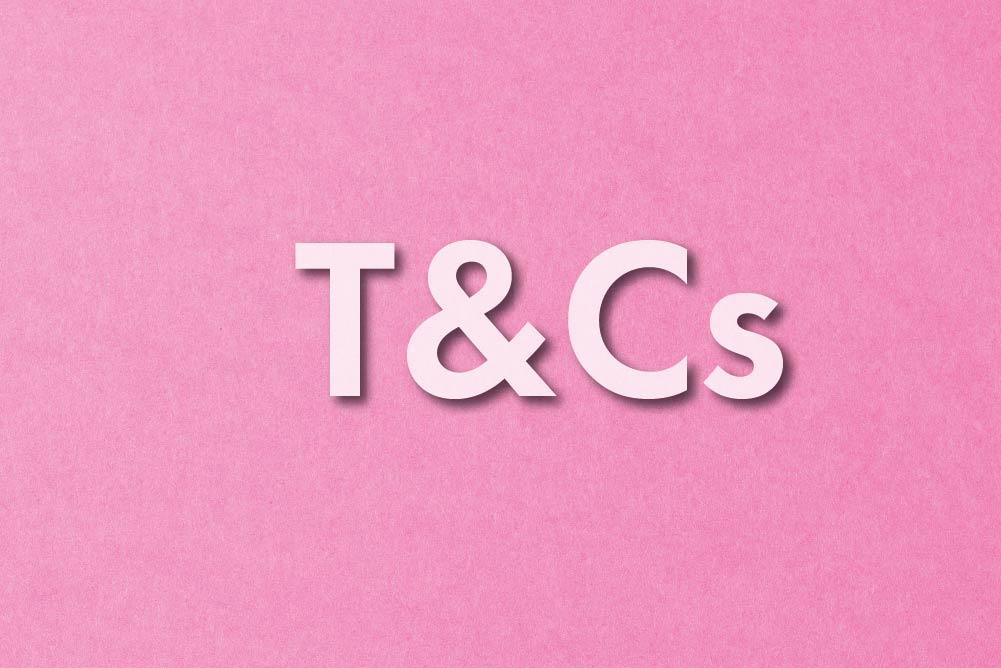 MYA GIVEAWAY T&Cs